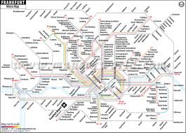 Germany Rail Map by Frankfurt Metro Map U2013 Subway