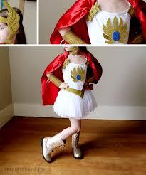 Shera Halloween Costume Ra Kids Costume Diy Free Pattern Printable