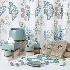 Aqua Colored Bathroom Accessories by Give Your Bathroom A Spa Treatment With These Chic Kazoo Bath