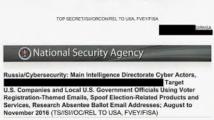 top secret nsa report details russian hacking effort days before
