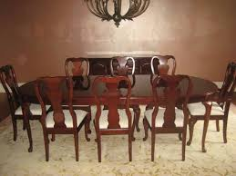 thomasville dining room sets dining room table w 8 chairs thomasville cherry winston court ii