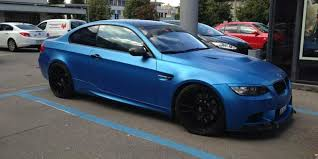 matte bmw matte blue modified bmw m3 modified cars fun
