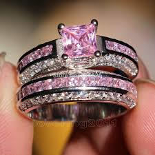 love rings pink images 001 victoria wieck princess cut pink sapphire simulated diamond jpg