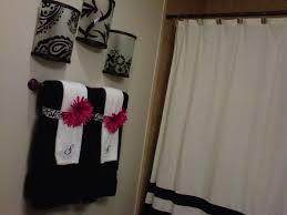 black and white bathroom decor ideas black white pink bathroom decor cumberlanddems us