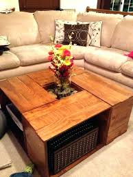 Living Room Table With Storage Square Coffee Table With Storage Travelandwork Info