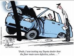toyota car recall crisis toyota recalls 3 8m vehicles floor mats cave