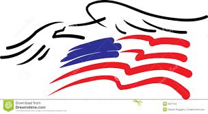 Eagles Flag Eagle And American Flag Stock Vector Illustration Of Flag 5627122