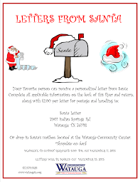 official letters from santa watauga tx official website