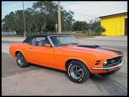 orange mustang convertible 62 best 1970 mustang convertables images on ford