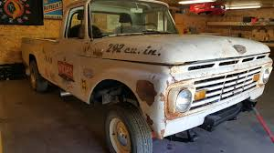 Vintage Ford Truck Specs - go full retro with a 1963 ford f 100 gasser ford trucks com