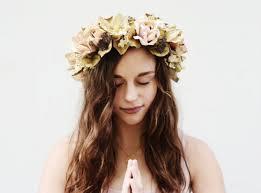 bohemian hair accessories hair accessory bridal flower crown crown headpiece