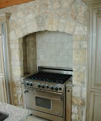 Kitchen Wall Stone Tiles - our antique rough wall stone cladding by ancient surfaces
