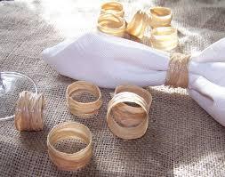 rond de serviette mariage ronds de serviette sont facile a faire soi meme ronds de