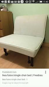 Single Futon Chair Bed Ikea Chair Bed Furniture Hogansofhale