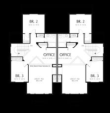 mascord house plan 4016 the spencer