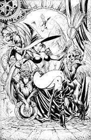 wicked witch by leovitalis on deviantart lineart grimm fairy