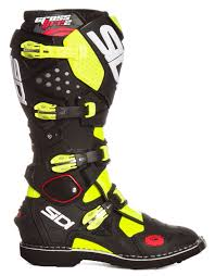 tech 10 motocross boots sidi mx boots crossfire 2 yellow fluo black 2017 maciag offroad