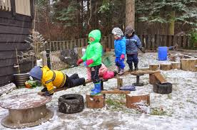 let the children play how to create a natural outdoor play space