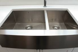 how to install stainless steel farmhouse sink things to know about buying installing a stainless steel farmhouse