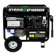 shop at the home depot and save on fuel duromax 10000 watt hybrid dual fuel portable gas propane generator