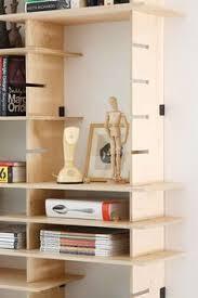 Ikea Modular Bookcase A Bookcase Made Of Ikea U0027s Boxes And Binder Clips Decor Hacks