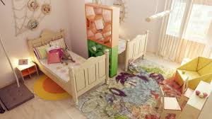 Karalis Room Divider Children S Room Dividers Effective Space Planning Using Colorful