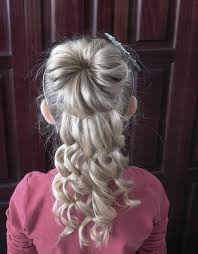 exclusive half up and half down hairstyles for girls