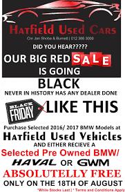 bmw black friday sale black friday specials at hatfield