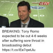 Tony Romo Meme Images - memes portscenter ranews breaking tony romo expected to be out 4 6