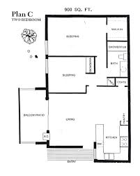 Two Bedroom Floor Plans One Bath Stone Pine Apartments U2013 Floor Plans