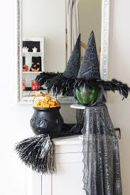 Flying Witch Decoration 34 Witch Themed Halloween Decorations To Create An Ambience Digsdigs