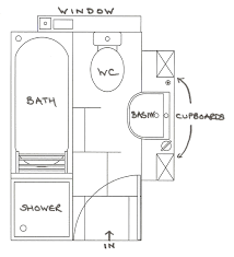 floor plan shower symbol container house salle de bain who else wants simple step by step