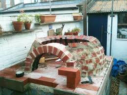 Building A Backyard Pizza Oven by How To Make An Outdoor Brick Oven From Recycled Materials