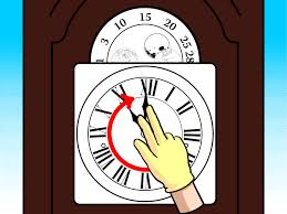 how to wind a grandfather clock 10 steps with pictures