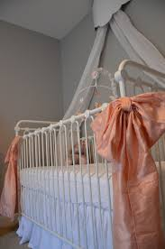 jaycie u0027s girly peach gray and white nursery project nursery