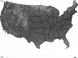 map of america 20000 years ago the quaternary the last 24 million years vegetation