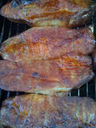 smoked and honey glazed country style ribs