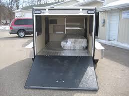 21 fantastic enclosed trailer camper conversion agssam com