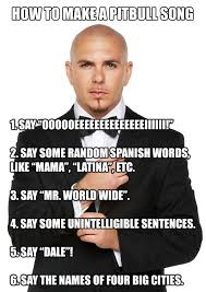 Meme Rap Songs - every pitbull s song the meta picture