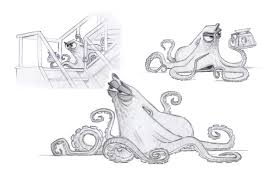 finding dory images go behind the scenes plus concept art collider