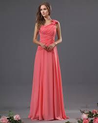 usd 114 45 bowtie chiffon one shoulder floor length bridesmaid