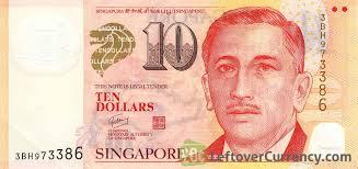 10 singapore dollars encik yusof bin ishak exchange