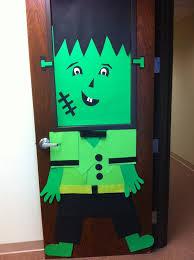Frankenstein Door Decoration 20 Best Door Decorations Images On Pinterest Halloween Ideas