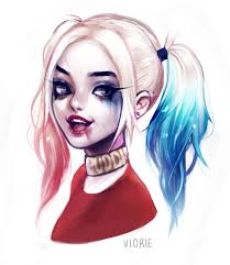 harley quinn tattoo design