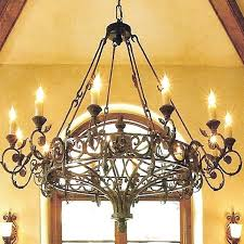 Gazebo Solar Chandelier Round Cast Iron Antique Chandelier Wrought Rustic 8 Light Resin
