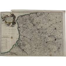 Map Of North East 17th Century Antique Map Of North East France Artois Including