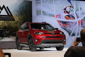 all toyota 2018 toyota rav4 adventure at the chicago auto show