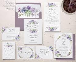 wedding invitation sets best 25 lilac wedding invitation sets ideas on lilac