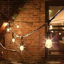 edison light string feit electric 30ft outdoor string lights 30