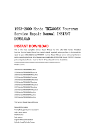 100 honda 125 atv service manual 7 best kids atv images on